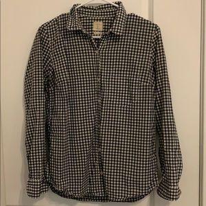 Gap Checkered Button-down Shirt